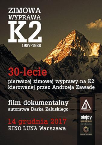 Zimowa Wyprawa K2 1987-1988