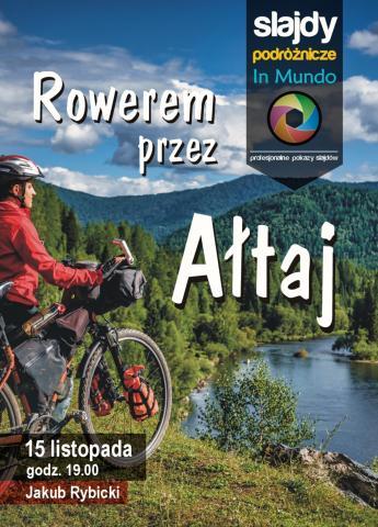 Rowerem przez Ałtaj