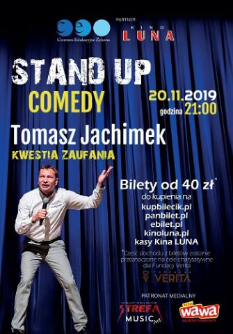 Stand Up: Tomasz Jachimek
