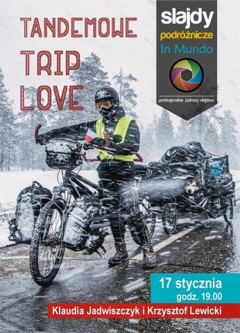 Tandemowe Trip Love - zimowa ekspedycja rowerowa za koło podbiegunowe z psem