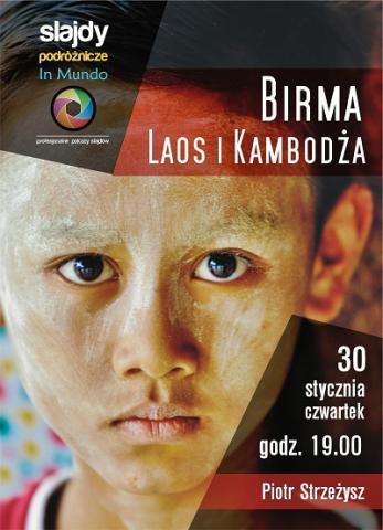 Zaistnienia, czyli rowerem po Birmie, Laosie i Kambodży