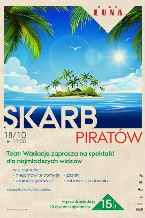 Skarb piratów - spektakl Teatru Wariacja