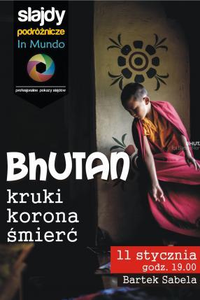 Bhutan - kruki, korona, śmierć