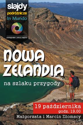 Nowa Zelandia - na szlaku przygody
