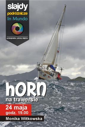 Horn na trawersie