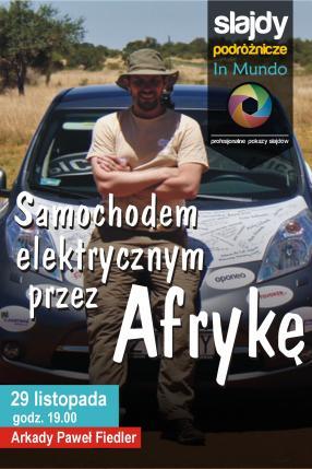 Samochodem elektrycznym przez Afrykę