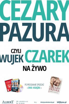 """Stand up Czarka Pazury """"wujek Czarek radzi"""""""