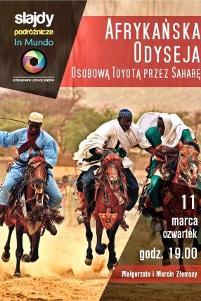 Afrykańska odyseja, osobową Toyotą przez Saharę