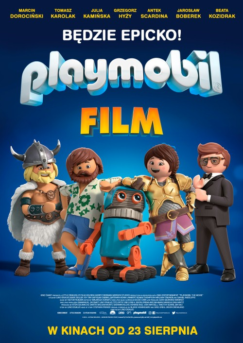 Playmobil Film Sprawdź Seanse Kino Luna Warszawa